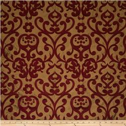 Fabricut Emeril Silk Vermillion