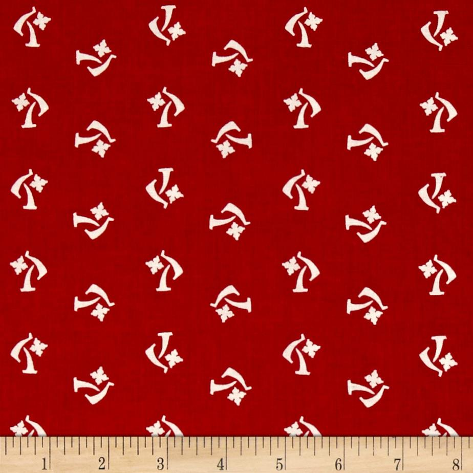 Mary Fons Small Wonders Netherlands Ditsy Red