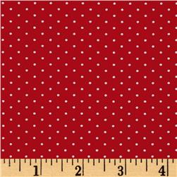 Moda Sugar Plum Christmas Christmas Dot Candy Red
