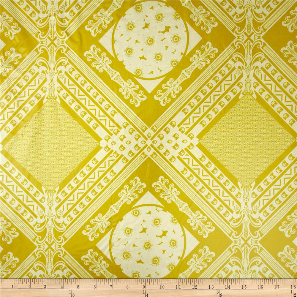 Anna Maria Horner LouLouThi Laminate Framed Citron