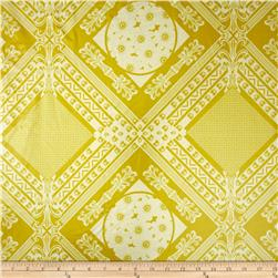 Anna Maria Horner Home Décor Laminate Framed  Citron