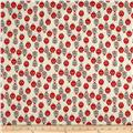 Premier Prints Ladybug Macon Formica Red/Canal