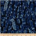 Fernwood Handblocked Fern Midnight