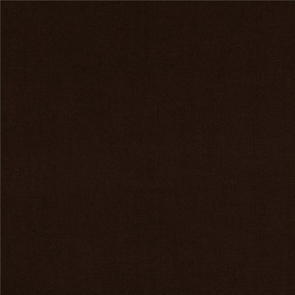 Stella Cotton Solid Brown