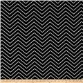 Premier Prints Chevron  Black