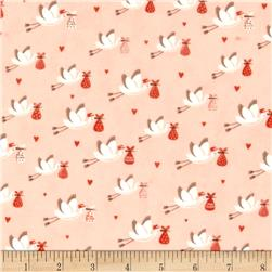 Moda Sweet Baby Flannel Special Delivery Blossom