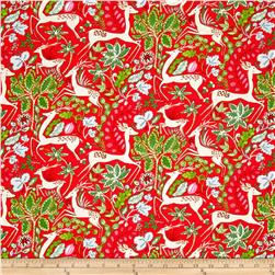Dena Designs Winterland Reindeer Red