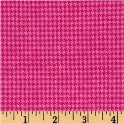 Marcus Primo Plaids Color Crush Flannel Houndstooth Fuchsia