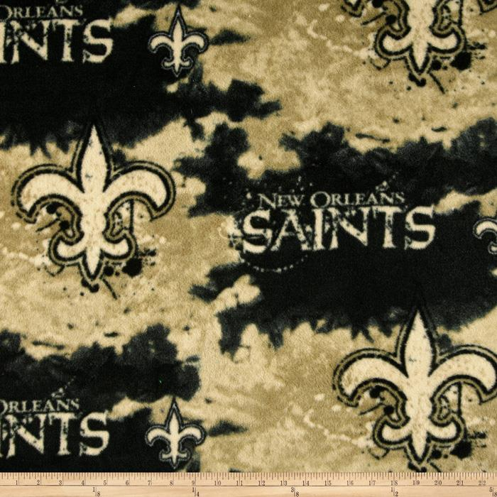 NFL Fleece New Orleans Saints Black