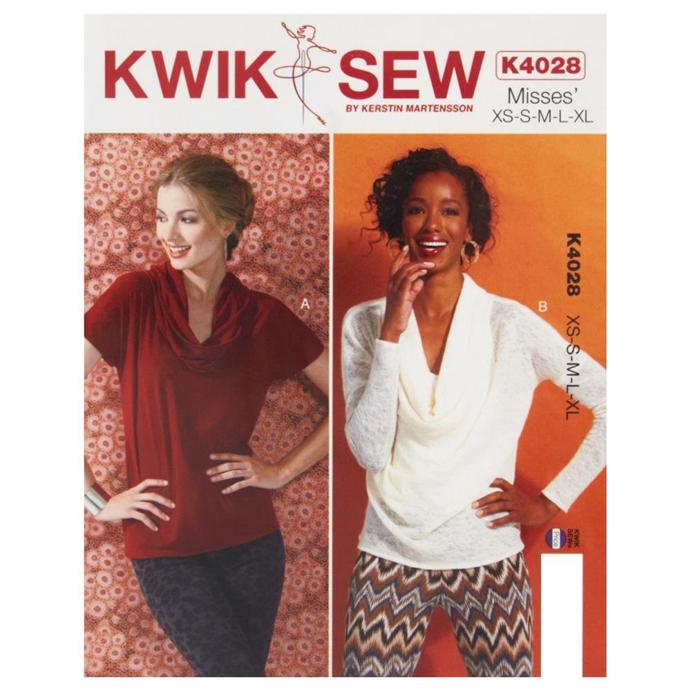 Kwik Sew Misses' Tops Pattern