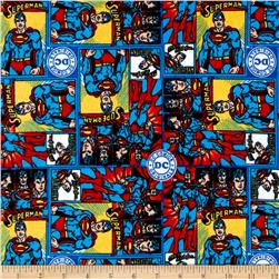 DC Comics Superman Flannel Multi