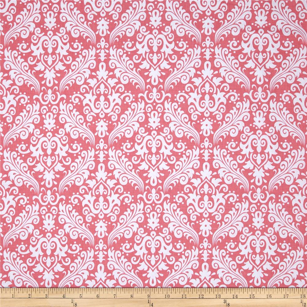 Riley Blake Basics Medium Damask Coral