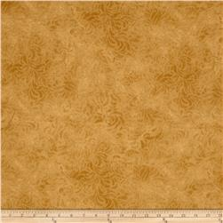 "110"" Wide Quilt Back Bella Suede Mustard"