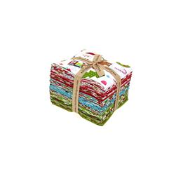 Riley Blake Santa Express Fat Quarter Multi