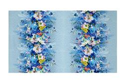 Giverny Digital Large Floral Stripe Multi