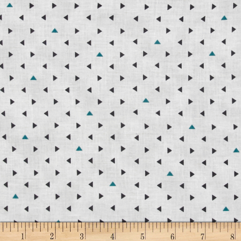 Agave Mini Triangle Dots Frog Fabric by Hoffman of California in USA
