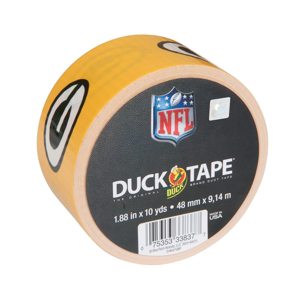 "NFL Duck Tape 1.88"" x 10yd-Green Bay Packers"