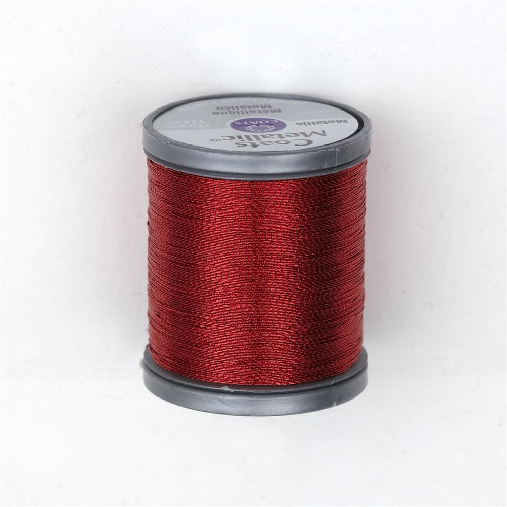 Coats & Clark Metallic Embroidery Thread 125 Yds. Ruby