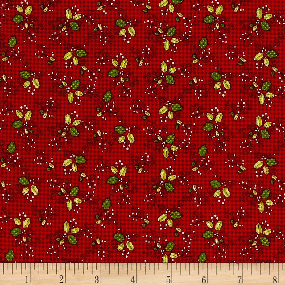 Glad Tidings Holly Red