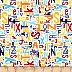 Riley Blake Crayola Alphabet Multi