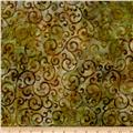 Artisan Batiks Regal Scroll Bronze