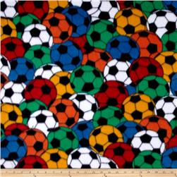 Fleece Soccer Print Primary