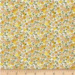 Storybook Vacation Multi Flower Yellow
