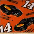 Tony Stewart Fleece #14 Car Toss Orange