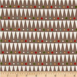Party Animals Organic Party Stripe Taupe