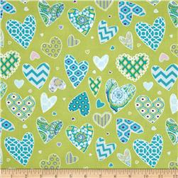 Haute Girls Hearts Aqua