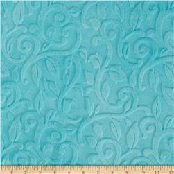 Minky Vine Cuddle Marina Fabric