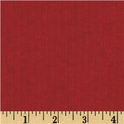 Designer Rayon Blend Tissue Rib Knit Brick Red