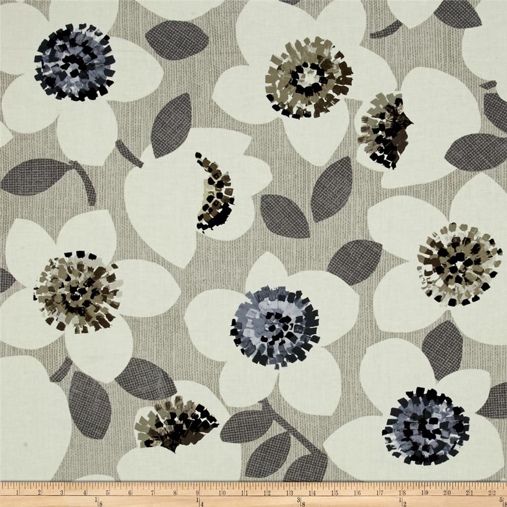 Contempo Cachet Large Floral Gray