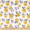 Soleil Small Floral White