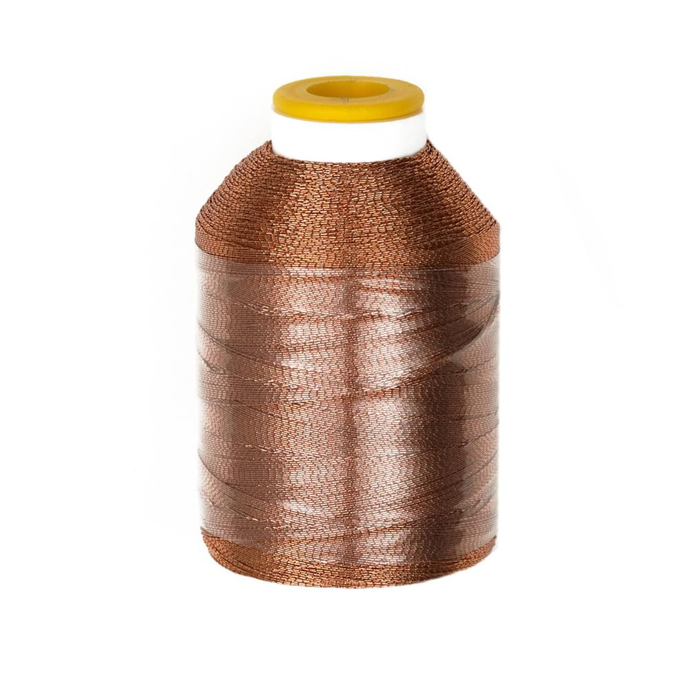 Coats & Clark Metallic Embroidery Thread 600 YD Copper