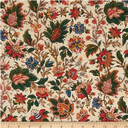 Mary Koval Tree of Life Jacobean Floral Multi