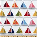 Michael Miller Shore Thing Sailboats Sailor White