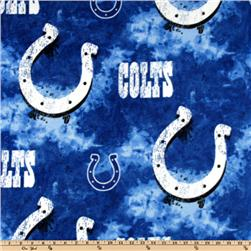 NFL Fleece Indianapolis Colts Large Logo Blue/White