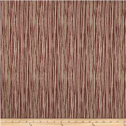 Magnolia Home Fashions Laurel Bay Stripe Lava Red