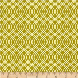 Art Gallery Splendor 1920 Knotted Trellis Olive