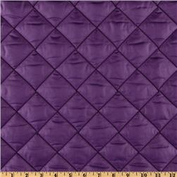 Quilted Nylon Ripstop Purple