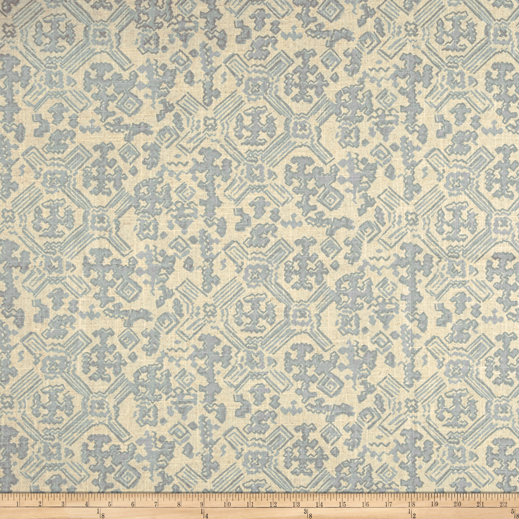 Lacefield Nomad Swedish Blue Pearlized Fabric by Lacefield in USA