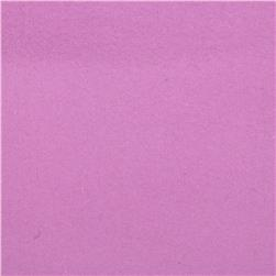Fluffy Solids Flannel Orchid