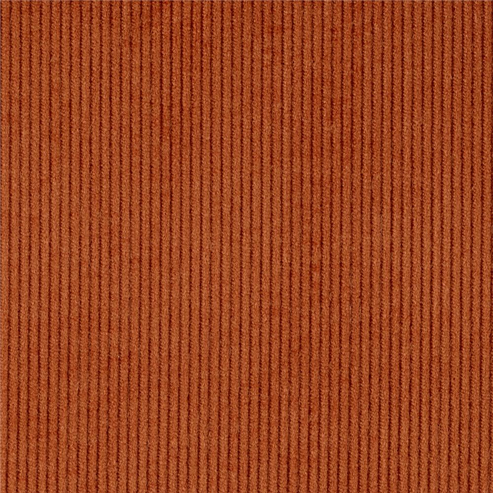 Kaufman 14 wale corduroy russet discount designer fabric for Kids corduroy fabric