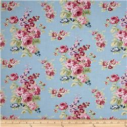 Anne of Green Gables Floral Blue