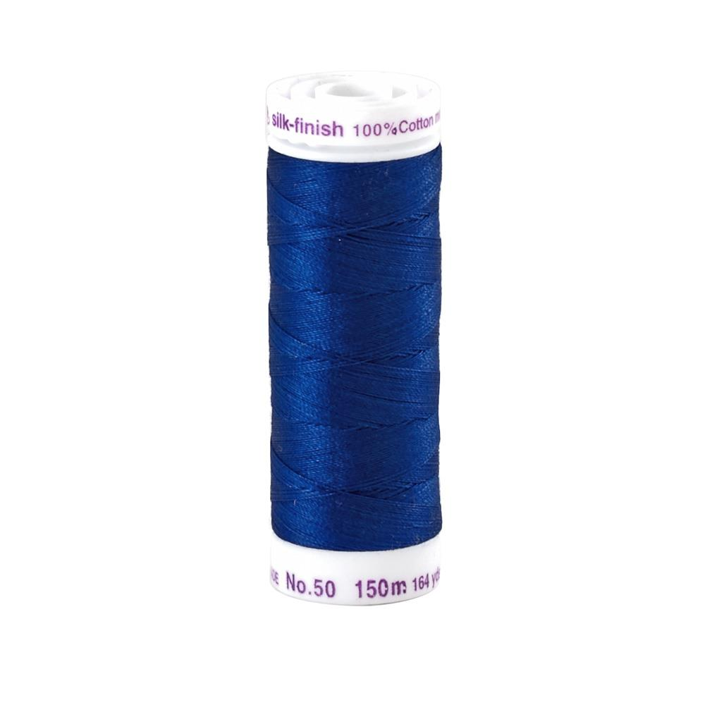 Mettler Cotton All Purpose Thread Imperial Blue