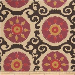 Fabricut 50027w Suzani Wallpaper Mulberry 03 (Double Roll)