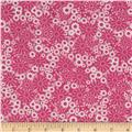 Baby Talk Splash Floral Pink/White