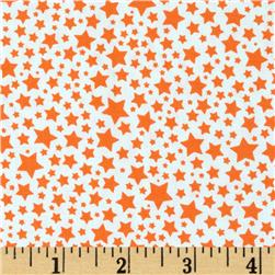 Michael Miller Starlettes Orange Fabric