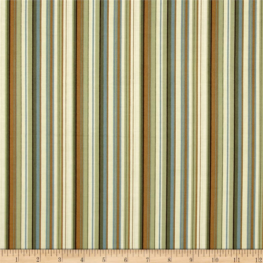Berkeley Square Pencil Stripe Ecru